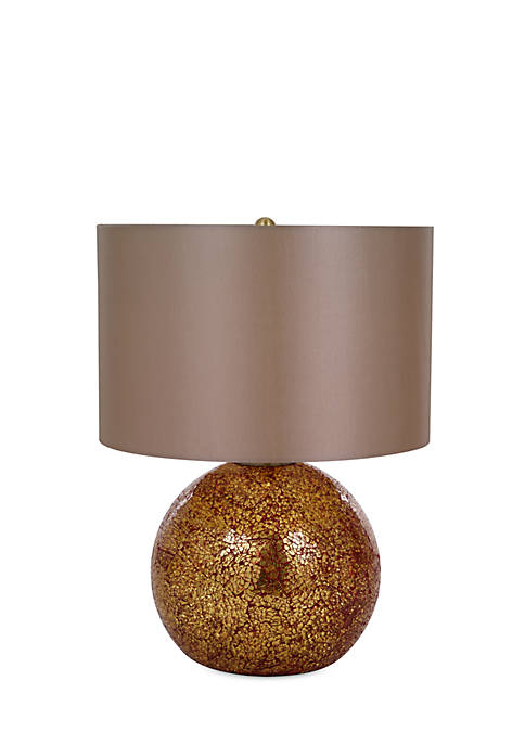 Stacey Red Crackle Glass Table Lamp