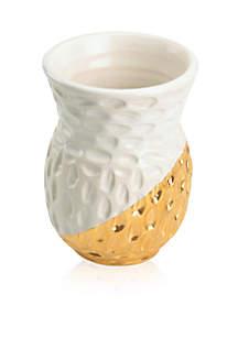 Truro Gold Dahlia Bud Vase