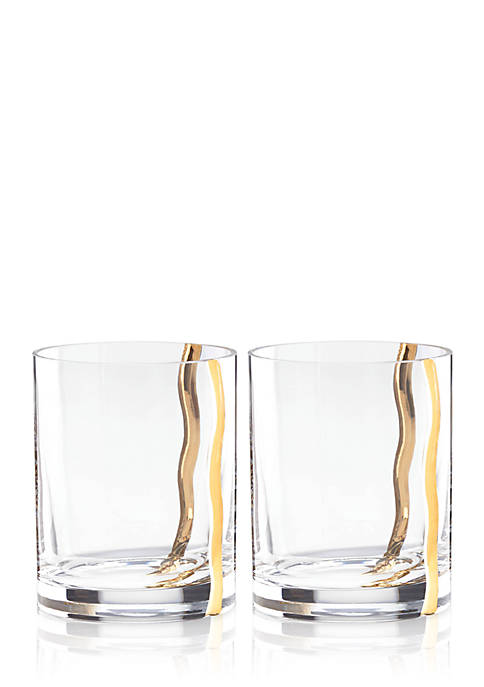 MICHAEL WAINWRIGHT Double Old Fashioned Glasses, Set of