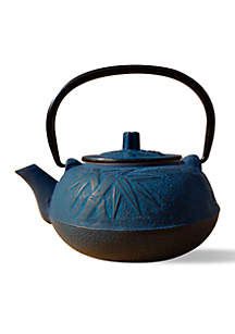 Blue Unity Cast Iron Osaka Teapot