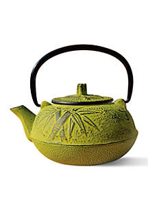 Moss Green Cast Iron Osaka Teapot