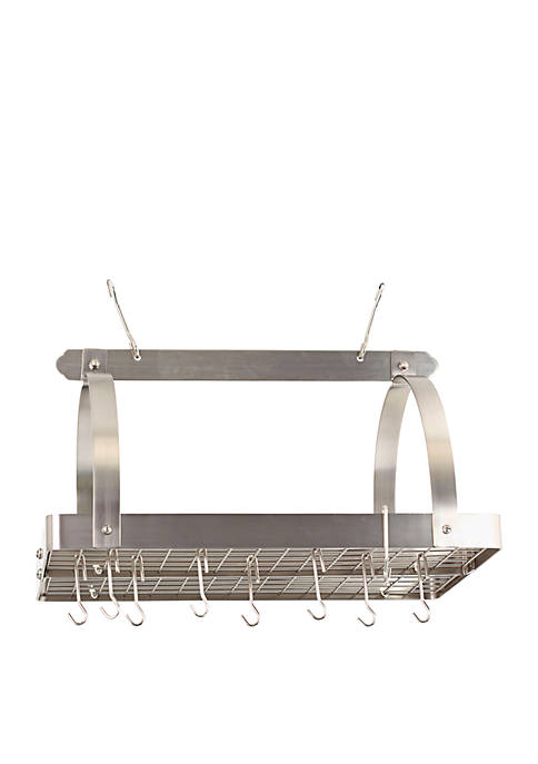 Old Dutch International, Ltd. Rectangular Hanging Pot Rack