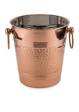 Copper Hammered Wine Cooler