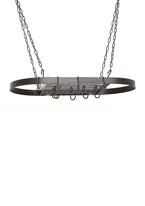 Old Dutch International, Ltd. Matte Black Oval Hanging