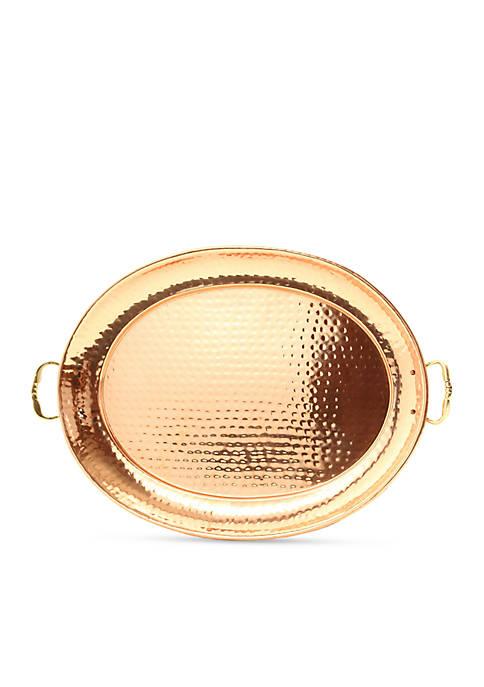 Old Dutch International, Ltd. Hammered Decor Copper Oval