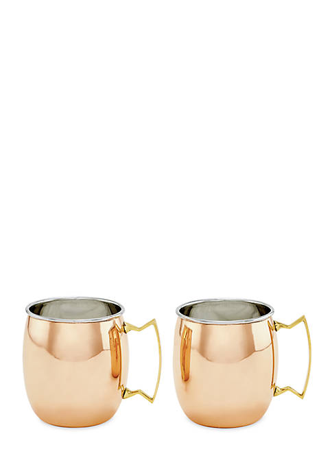 Old Dutch International, Ltd. Moscow Mule Mugs, 2