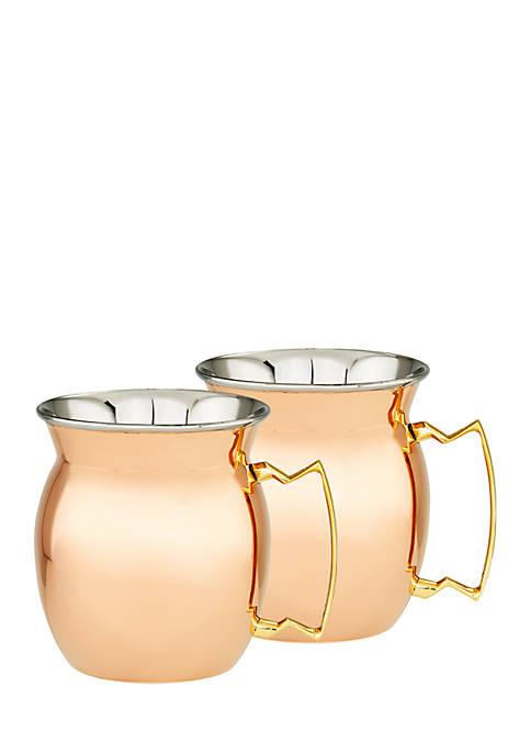 Old Dutch International, Ltd. 2-Ply Moscow Mule Mugs,
