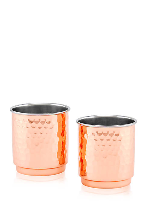 Old Dutch International, Ltd. Two-Ply Whiskey Tumblers