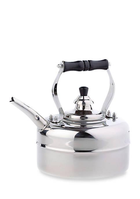 Stainless Steel Windsor Whistling Tea Kettle, 3-qt.