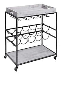 'Avalon' Wine & Serving Cart