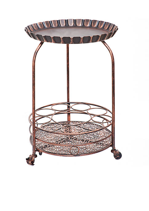 Old Dutch International, Ltd. Pop! Wine Serving Cart