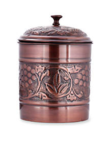 Antique Embossed Heritage Cookie Jar