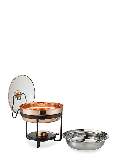 Old Dutch International, Ltd. Decor Copper Chafing Dish