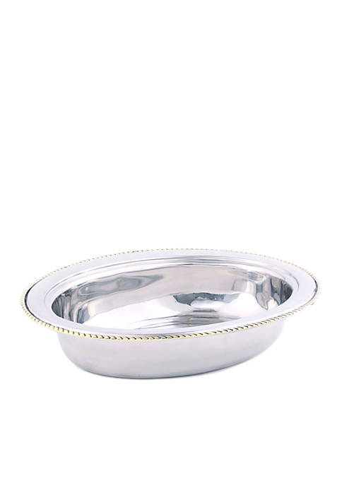 Old Dutch International, Ltd. Oval Stainless Steel Food