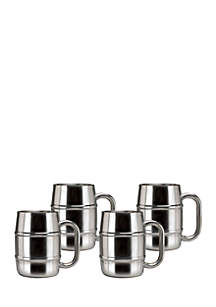 Old Dutch International, Ltd. Keep-Kool Double-Walled Stainless Steel Mugs