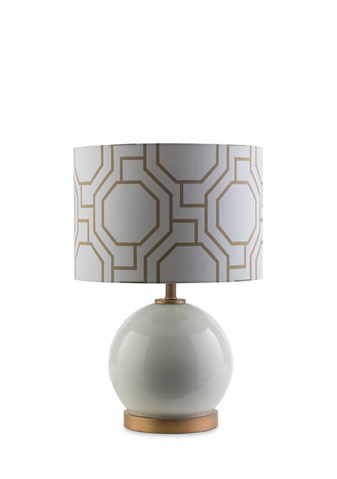 SURYA Bowen Table Lamp White
