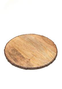 12-in. Raw Bark Edge Standard Round Board