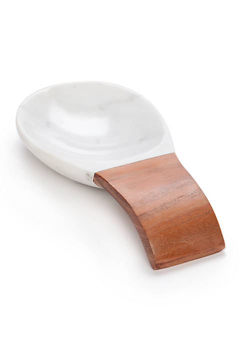 Biltmore® Artisan Acacia and Marble Spoon Rest