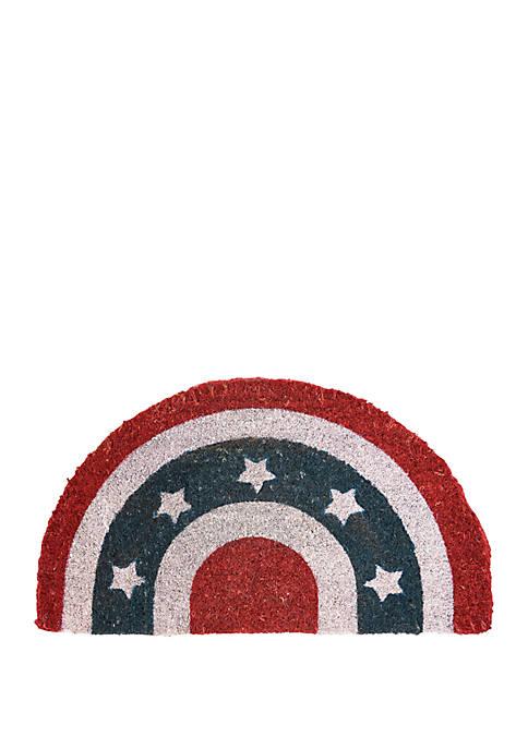C&F Americana Semi Circle Mat