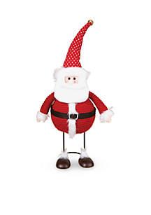 Small Bobble Santa Figurine