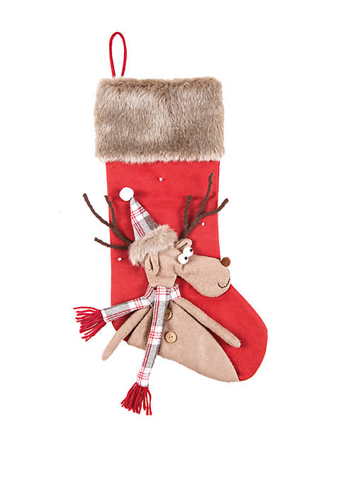 C&F Reindeer Stocking