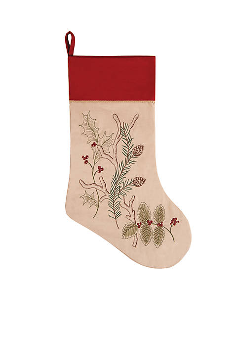 C&F Alpine Christmas Stocking