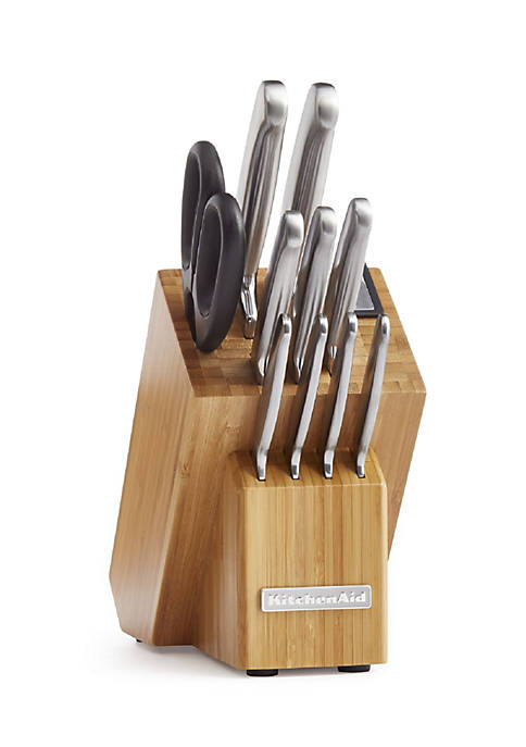 KitchenAid® Classic Forged 12-Piece Brushed Stainless Cutlery Set