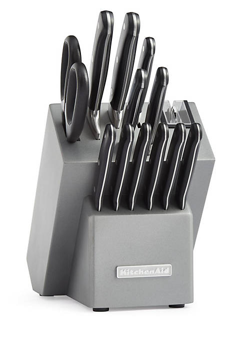 KitchenAid® Classic Forged 14-Piece Triple Rivet Cutlery Set