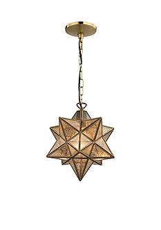 Sterling Manor Sirius Metal Pendant