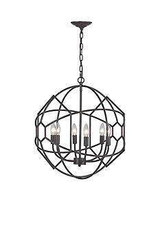Sterling Strathroy 6 Light Orb Chandelier