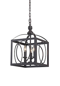 Sterling Manor Ailsa Ringed 3 Light Cluster Lantern