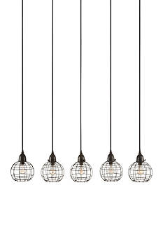 Dimond Home 5 Light Wire Ball Pendant