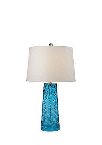 Dimond lighting hammered glass table lamp