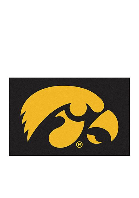 Fanmats NCAA University of Iowa Starter Mat