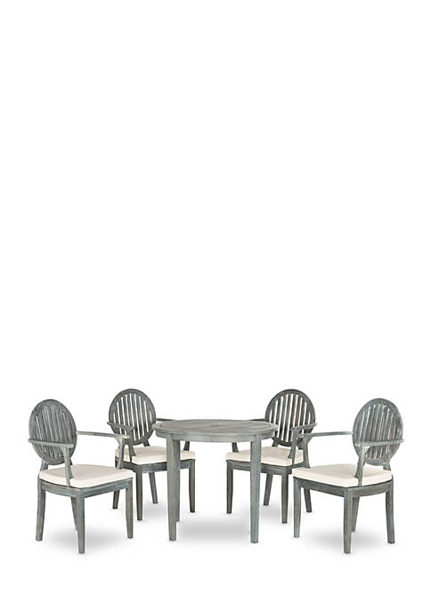 Safavieh Chino 5-Piece Dining Table Set