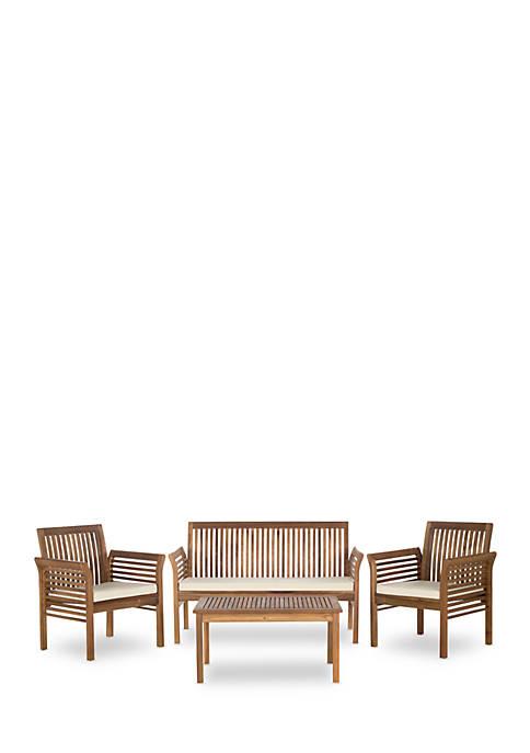 Safavieh Carson 4-Piece Outdoor Furniture Set