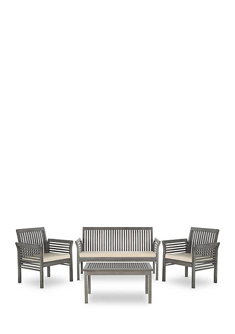 Safavieh Carson 4-Piece Outdoor Furniture Set