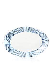 Modello Oval Platter, 17.75-in. L, 12.5-in. W
