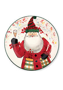 Vietri Old St. Nick 2018 Limited Edition Salad Plate
