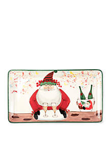 Old St. Nick 2018 Limited Edition Rectangular Platter
