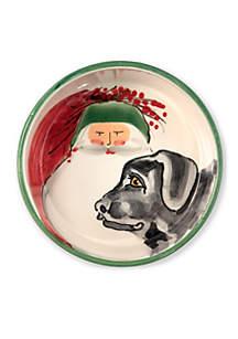 Old St. Nick Dog Bowl