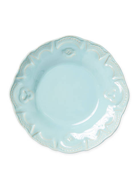 Vietri Incanto Stone Aqua Lace Pasta Bowl
