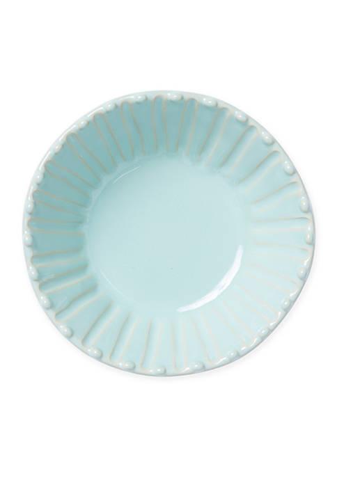 Vietri Incanto Stone Aqua Stripe Cereal Bowl