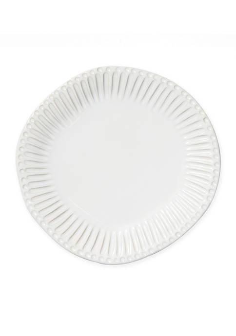 Incanto Stone White Stripe Dinner Plate