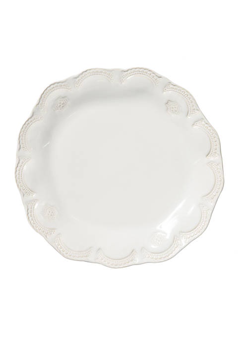 Incanto Stone White Lace Dinner Plate