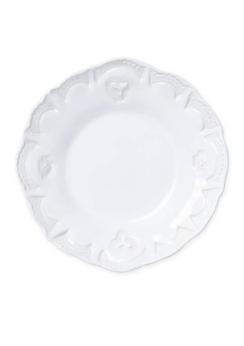 Incanto Stone White Ruffle Pasta Bowl