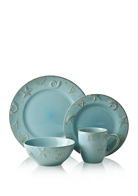 THOMSON POTTERY Cape Cod 16-pc. Dinnerware Set