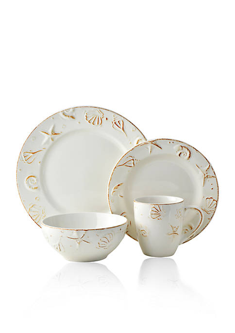 THOMSON POTTERY Hampton 16-pc. Dinnerware Set