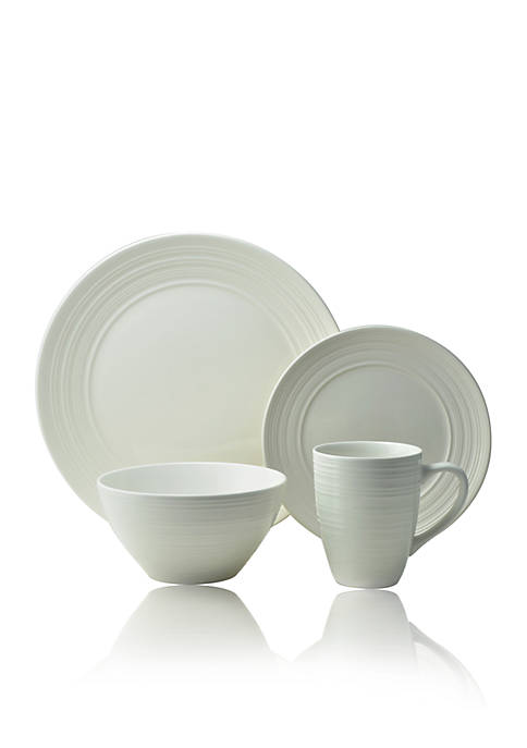 THOMSON POTTERY Ripple 16-pc. Dinnerware Set