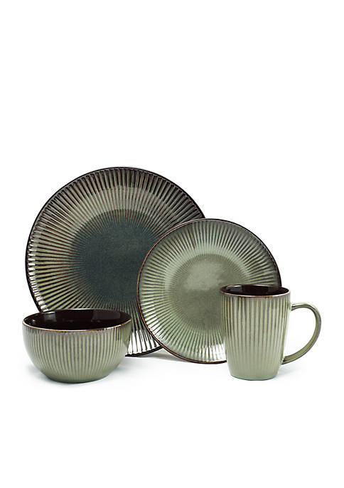 Gaia Navona 16-Piece Dinner Set